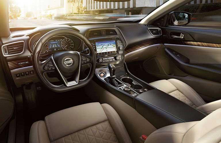 Nissan Maxima front interior