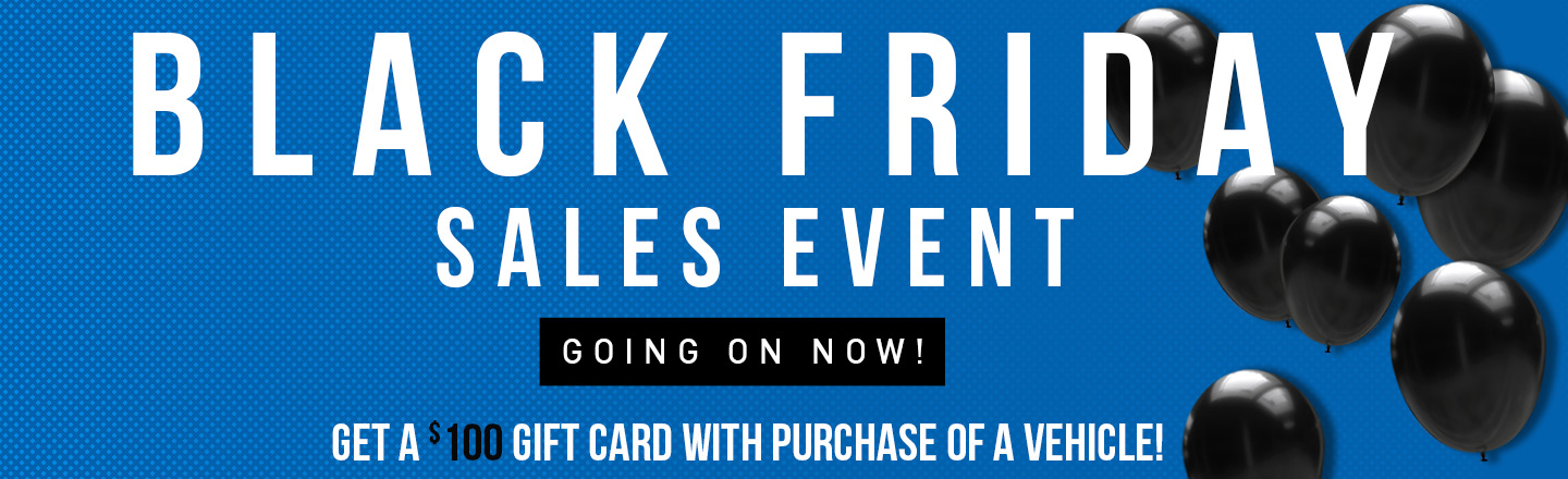 Matthews Motors Black Friday Sales Event
