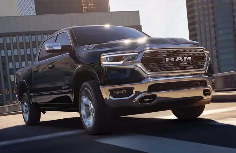 Ram 1500 Classic driving on a road