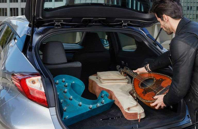 Toyota C-HR rear cargo area