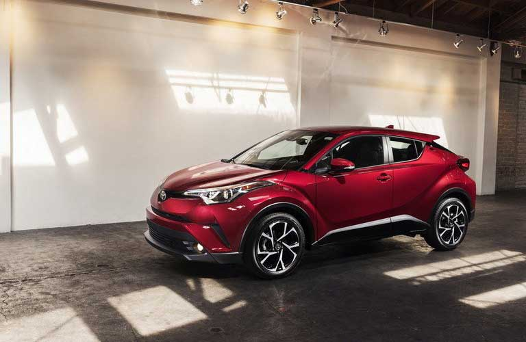 Toyota C-HR side profile