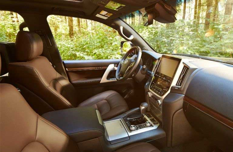 Front seats in the 2021 Toyota Land Cruiser