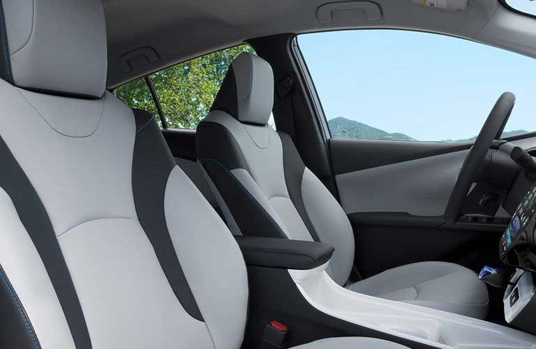 Toyota Prius front passenger seats
