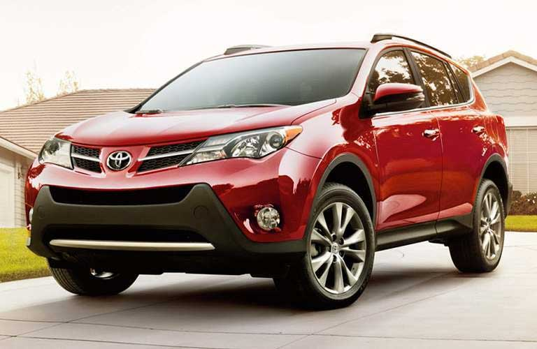 2014 Toyota RAV4 parked in a driveway