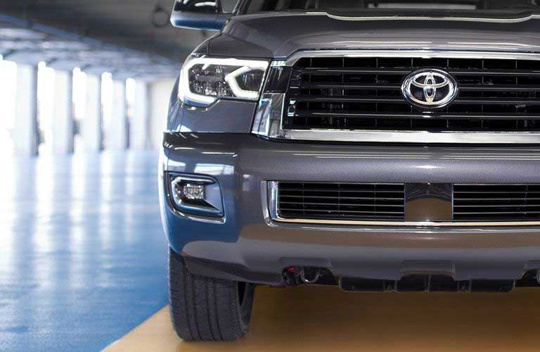 Front grill of a Toyota Sequoia