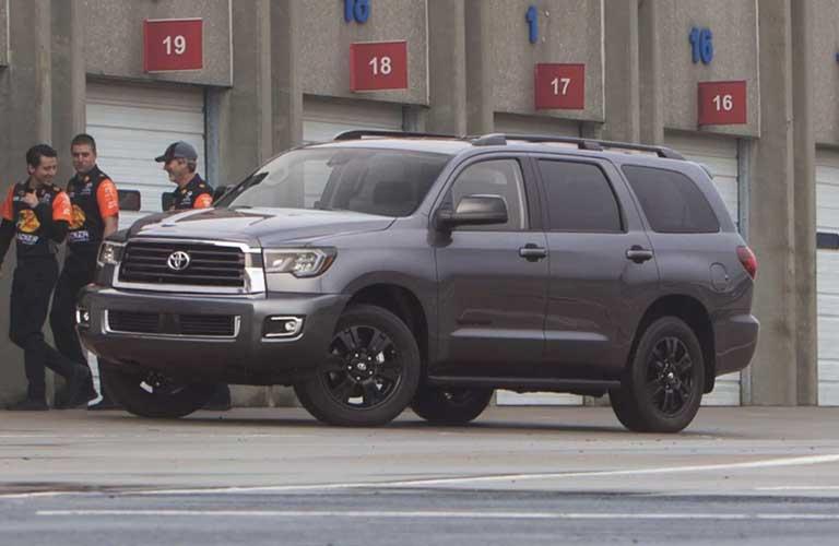 Gray Toyota Sequoia