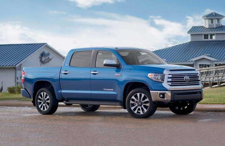 Toyota Tundra side profile