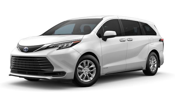 New Toyota Sienna Hybrid