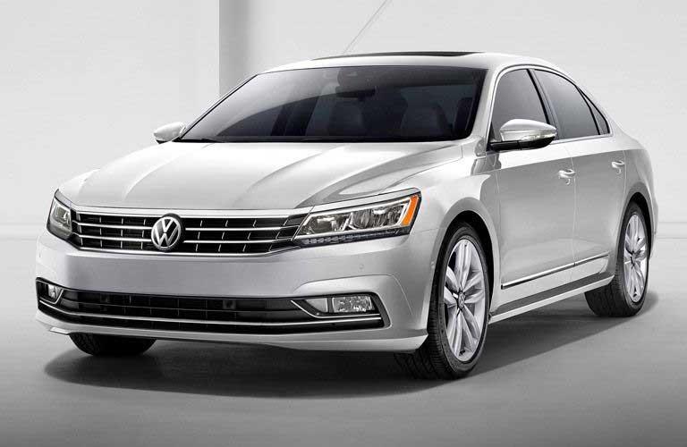 Volkswagen Passat front profile