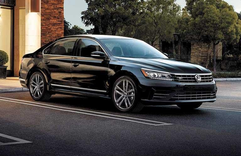 Volkswagen Passat parked in a parking lot