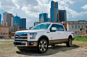 Ford F-150 Front white