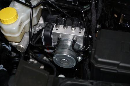 Control unit for an anti-lock braking system