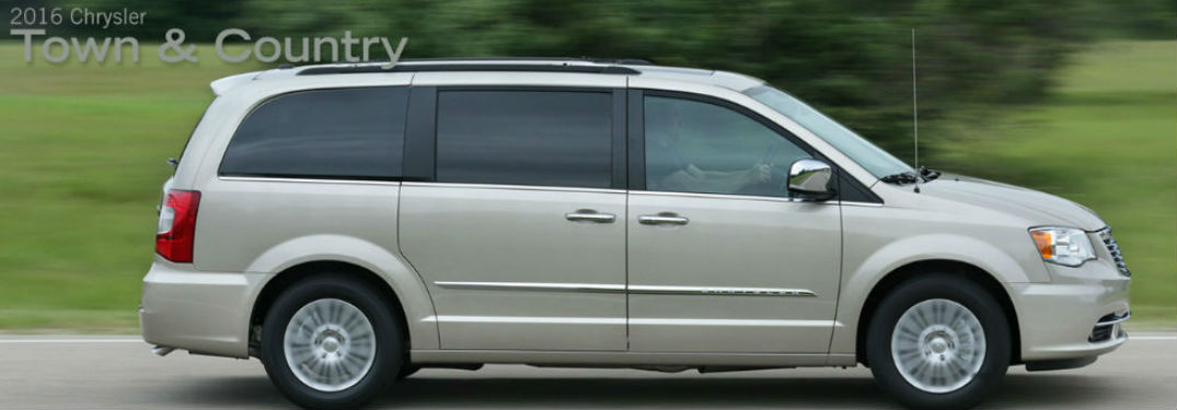Long list of family features available in Chrysler Town & Country minivan