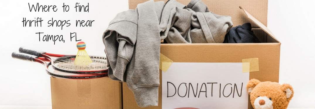 Where to donate used items near Tampa, FL?