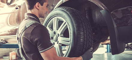 4-Wheel Alignment Inspection