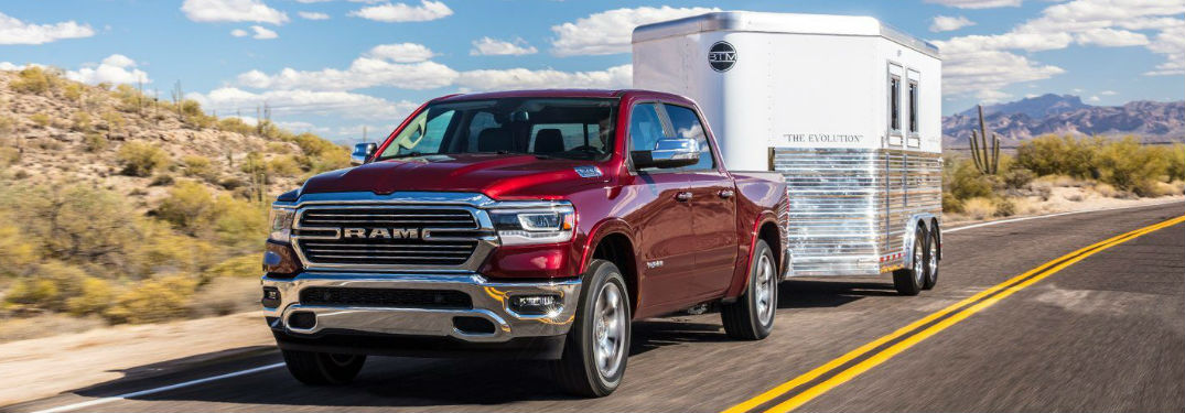 Multiple engine options available in the Ram 1500 help deliver the power and capability you need