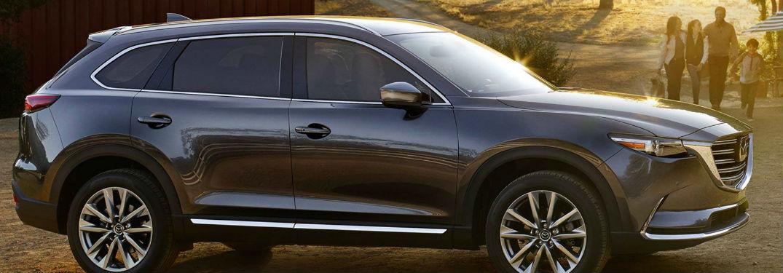 Mazda CX-9 side profile