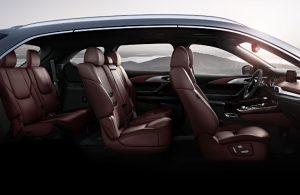 Mazda CX-9 passenger seats