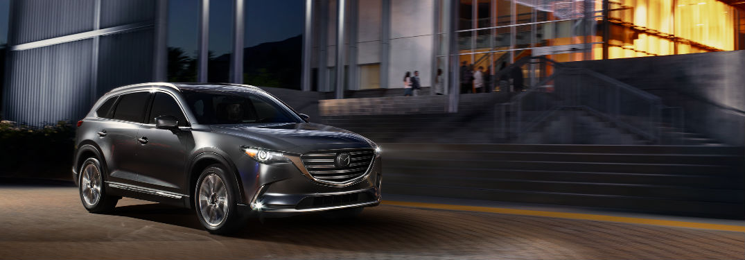 Long list of luxury features available in used Mazda CX-9 crossover SUV models