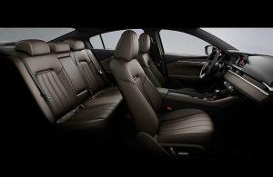 Mazda6 interior passenger seats