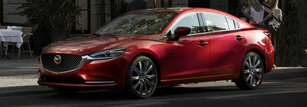 Multiple engine options available in the Mazda6 offer impressive performance specs