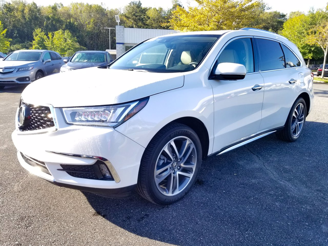 Certified 2018 Acura MDX FWD W/Advance Pkg