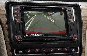 Volkswagen Passat rear view camera