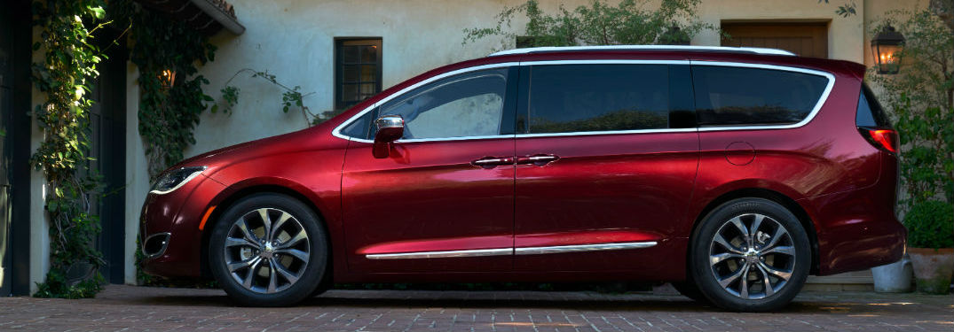 Large interior of Chrysler Pacifica offers impressive amounts of passenger and cargo space