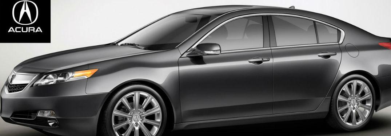 Acura TL side profile
