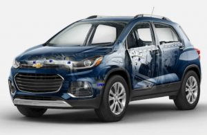 Chevy Trax safety high-strength safety cage