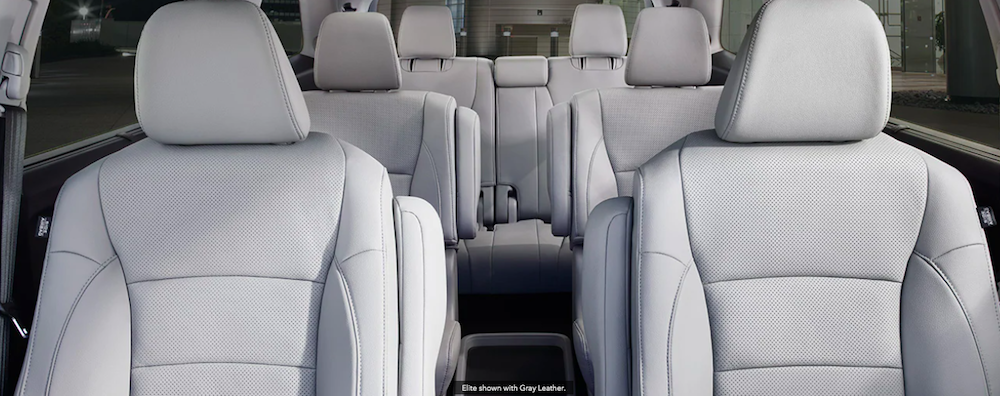 Which 2021 Honda Pilot Has Captain's Chairs?