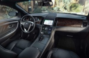 Ford Taurus dashboard features