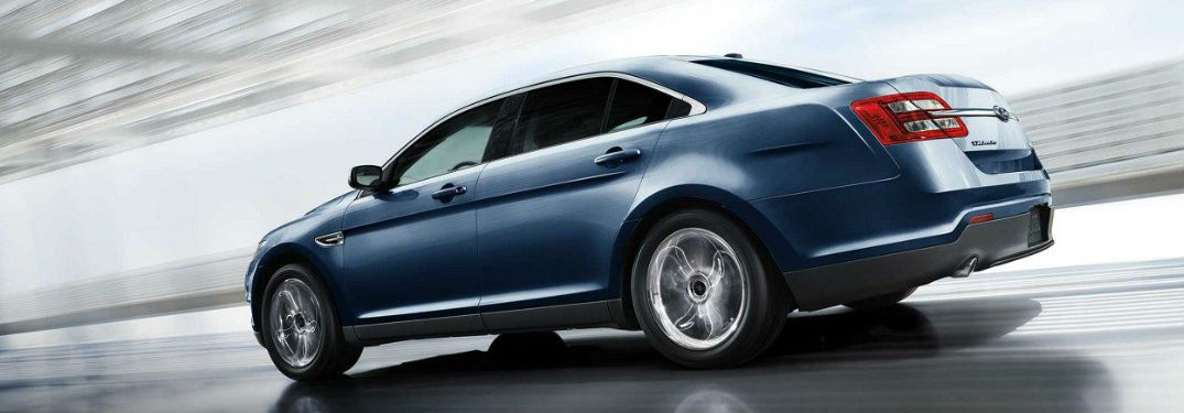 Multiple engine options available in used Ford Taurus models offer perfect combination of power and efficiency
