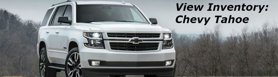 Chevy Tahoe  front profile