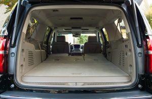 2018 Chevy Suburban rear cargo area