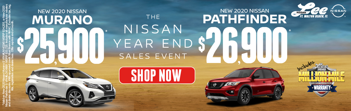 2020 Murano for $25,900 or 2020  Pathfinder f