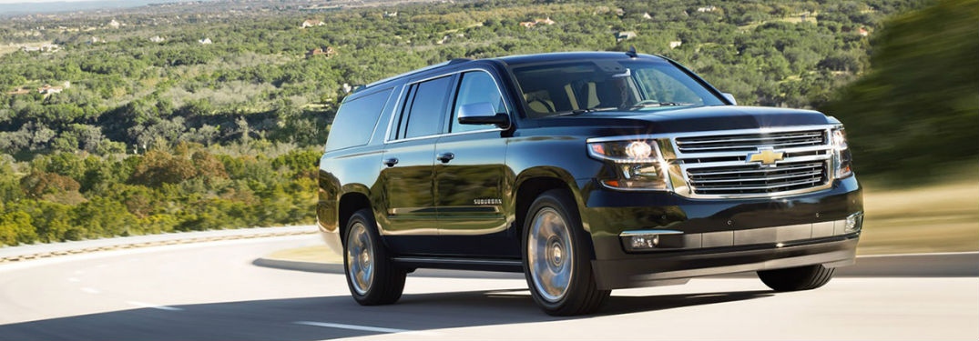 Long list of luxury features helps make the Chevy Suburban a top choice for new SUV