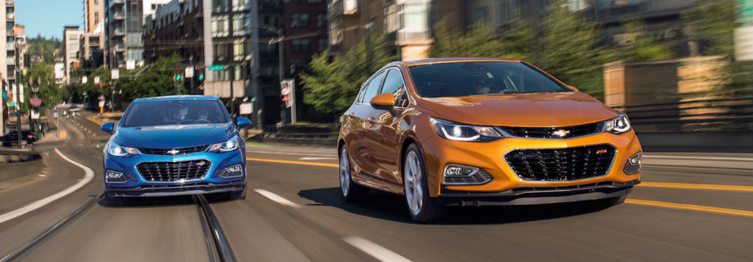 Superior list of technology features and comfort options add value to used Chevy Cruze