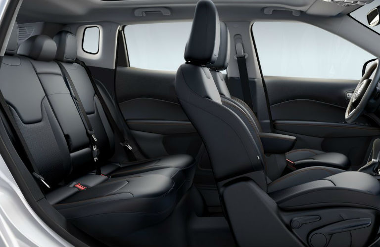 Jeep Compass interior passenger seats