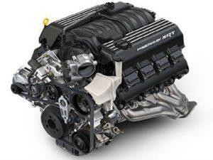 Dodge Charger 6.4-liter V8 engine
