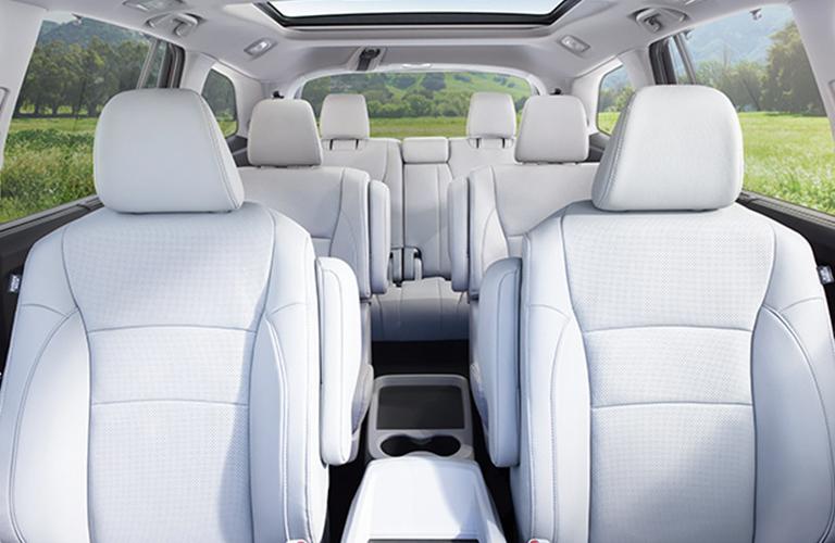 Used Honda Pilot interior seats