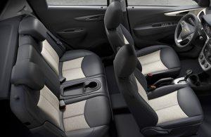 Chevy Spark passenger seats