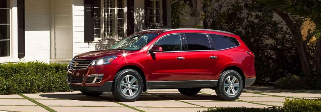 Large interior of Chevy Traverse offers tremendous amounts of passenger and cargo space
