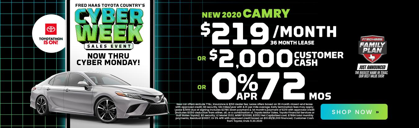 New 2020 Camry