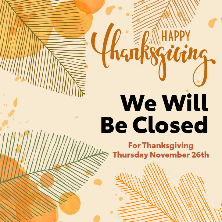 Thanksgiving Hours at Team One Toyota