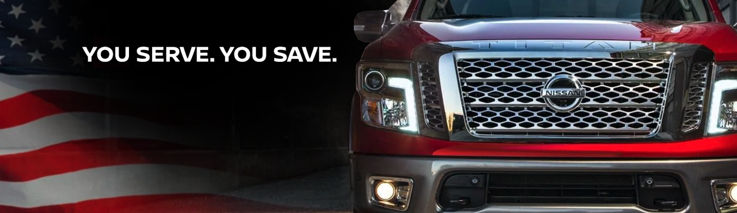 Nissan Military Program available for active duty military personnel at Miracle Nissan of Augusta