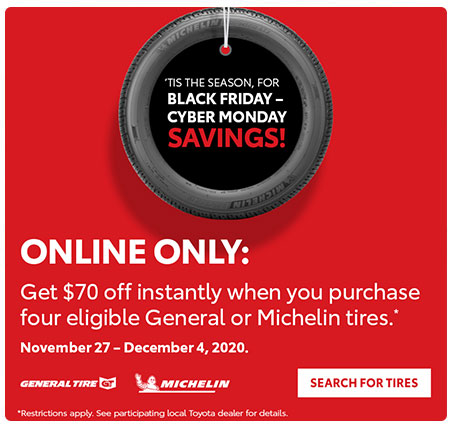 Black Friday Tire Special