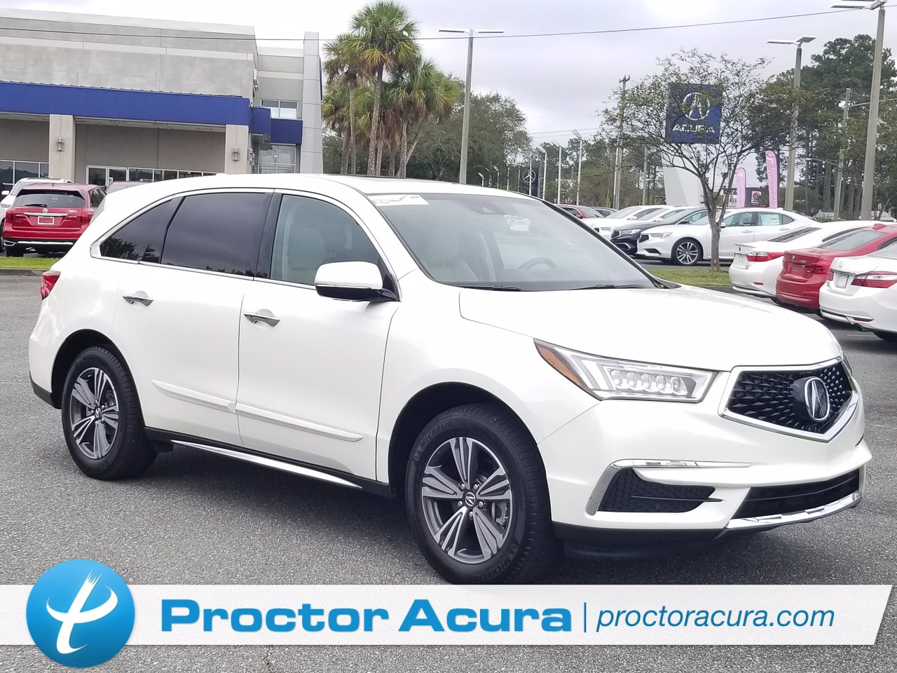Certified 2017 Acura MDX FWD