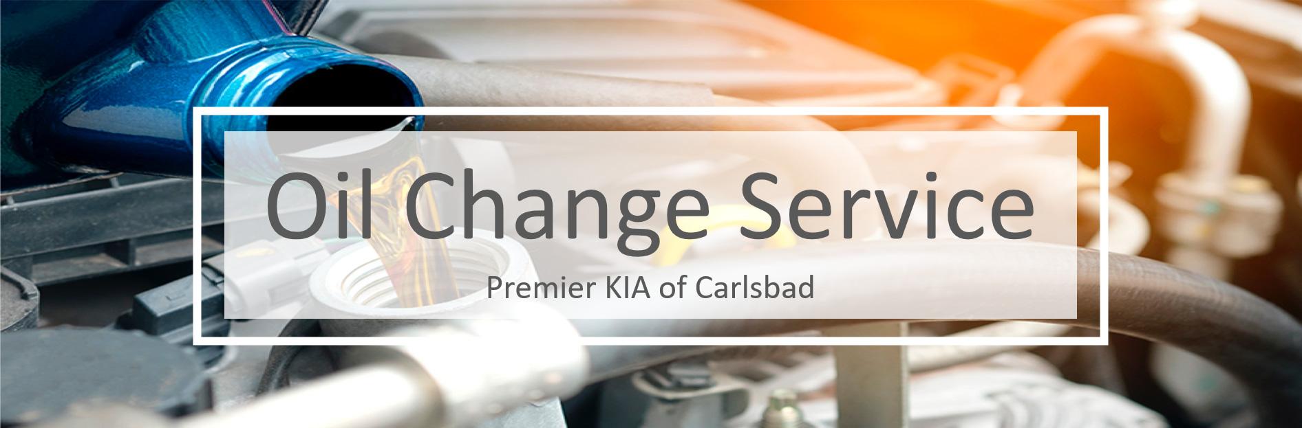 Oil Change Service at Premier Kia of Carlsbad