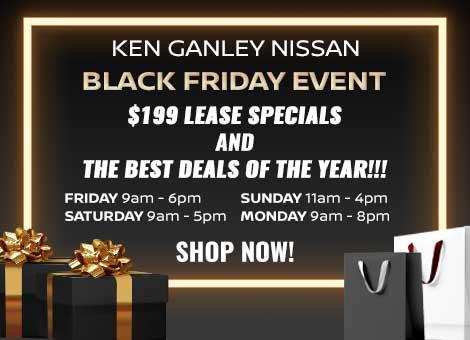 Ganley Nissan Black Friday Hours